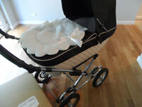 SILVER CROSS SLEEPOVER 3/1 PRAM
