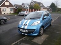 2008 Peugeot 107 Urban. 83k Miles, £20 Road Tax, +55mpg, Mot Sept Like C1 Aygo Punto Clio £1795