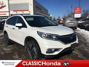 2016 Honda CR-V TOURING | NAV | BLIND SPOT CAM | LEATHER | AWD |