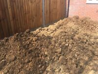 Good quality soil from new build plot