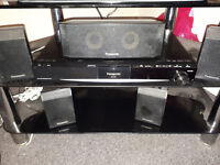 DVD PLAYER 5 speaker surround sound.