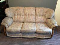 Free 3 Seater & Single Seat Sofa