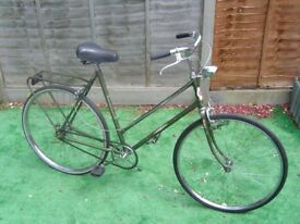 vintage ricardo town bike