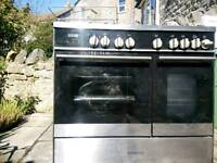 Kenwood Five Burner Gas Oven Electric Twin Oven
