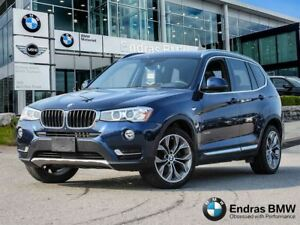 2015 BMW X3 xDrive28i - Premium, Technology, Executive Package