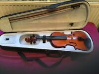 Primavera 3/4 violin with case