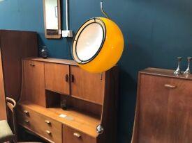 Super Rare Pendant Lamp by Harvey Guzzini. Retro Vintage Mid Century