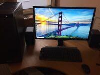 £1800 ono Powerful PC, 5.2 Ghz i7-7700k, GTX1060, 2X 4K 28inch Samsung, 16GB 3000Mhz, 250GB 960 PRO