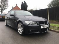BMW 320D M SPORT 2008-RARE MODEL-IMMACULATE CONDITION-FIRST TO SEE WILL BUY