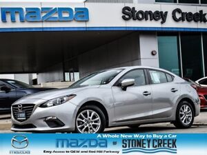 2014 Mazda MAZDA3 GS AUTO,LOW KM,HEATED,ALLOY,B/UP+CRUISE,ACC FR