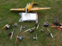 Vintage Model Aircraft Engines