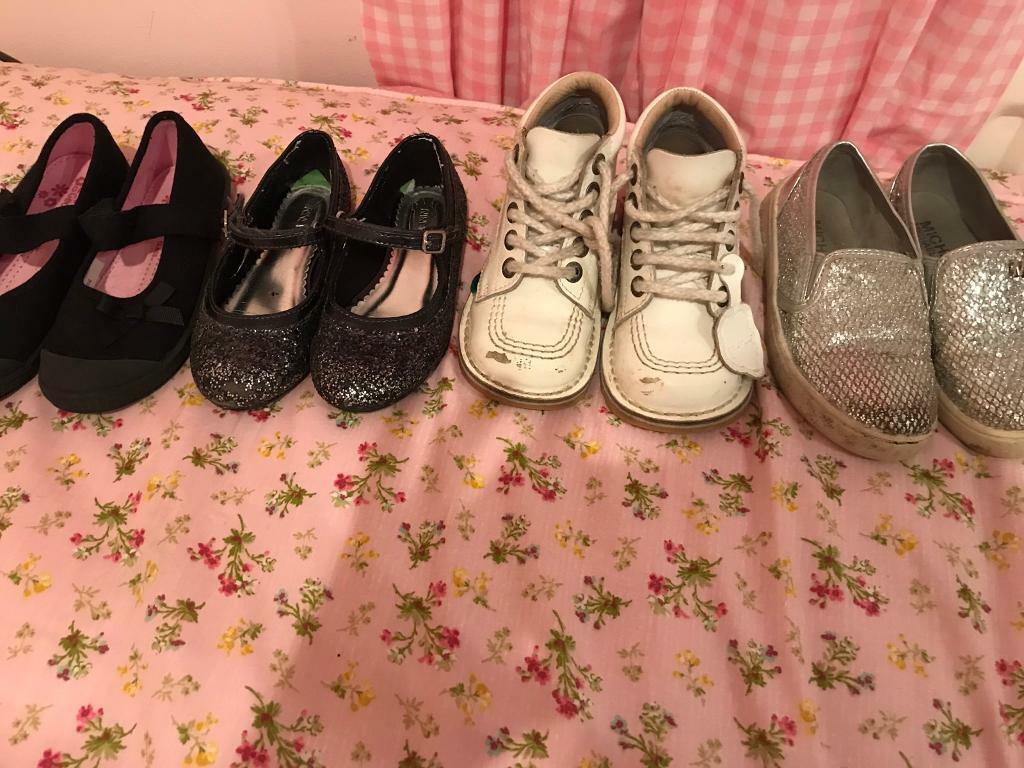 Girls shoe bundle size 10