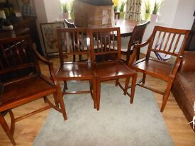 X4 Solid Teak Lombok Chairs, 2 carver