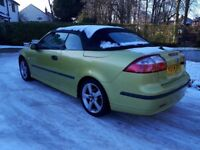Saab 9-3 convertible (px welcome at trade)