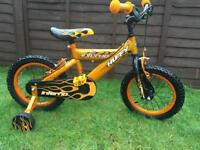 Huffy inferno bike with stabilisers