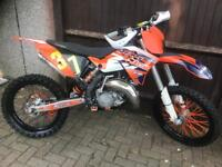 Ktm 125 2010 year motcross bike