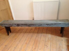 Old bench seat