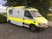 1999 Renault master T35 2.8 tai lwb Ambulance