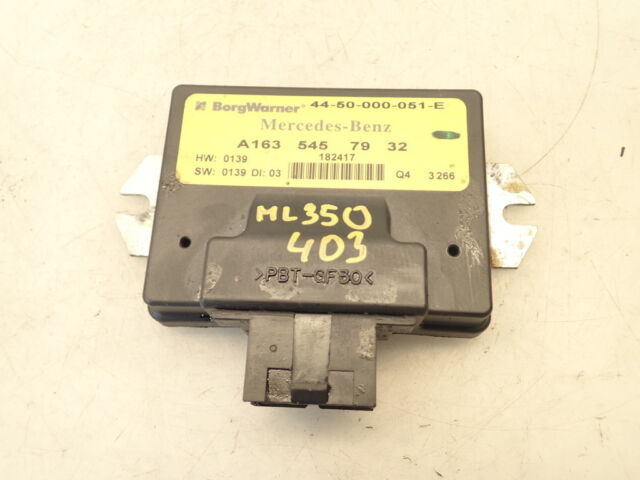 Transfer Box Ecu-A1635457932-04 Mercedes ML350 W163 3.7 Auto-ref403