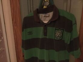 Retro Glasgow Celtic top