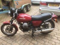 CLASSIC MOTO GUZZI V50/3 in good original condition