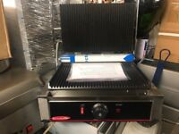 CATERING COMMERCIAL BRAND NEW RESTAURANT PANINI EQUIPMENT CAFE SHOP TAKE AWAY PANINI GRILL CAFE SHOP