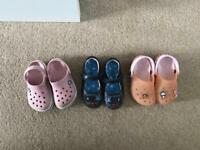 Cros and M&S shoes