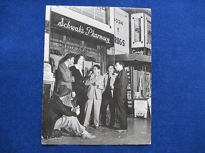 B W Life Mag Photo Hollywood Landmark Schwabs Pharmacy