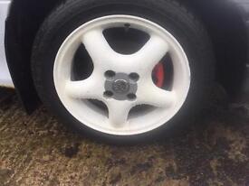 Set of 4 Vauxhall alloys