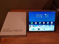 Samsung Galaxy Tab S2 SM-T810 32GB, Wi-Fi, 9.7in - Gold with cover in Excellent condition