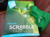 Travel Scrabble - as new