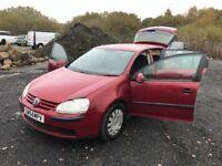 Volkswagen Golf Diesel Good Mpg 12 Months Mot! Great cheap diesel car must be seen like astra focus