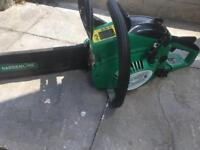 Garden line petrol chainsaw Wsm