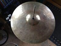 "K Zildjian 15"" Constantinople cymbal"