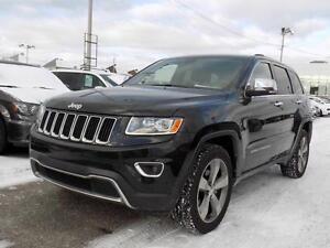 Jeep Grand Cherokee Limited 2014 HITCH/PLAN OR/CUIR/TOIT/GPS