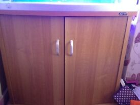 Marine fish tank and cabinet for sale
