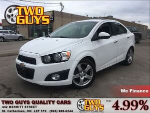 2012 Chevrolet Sonic LT SUN ROOF BIG MAGS