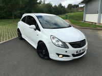2010 VAUXHALL CORSA MODIFIED 1.4 SRi WHITE TAX MOT AC LADY OWNER 79K MILES