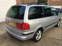 AUTOMATIC* 2004 7 Seater MPV Alhambra 1.9 TDI SE TIPTRONIC*11 Months Mot *Only 1 Previous Owner