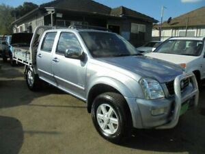 2004 Holden Rodeo RA LX Silver Blue 4 Speed Automatic Crew Cab Pickup Punchbowl Canterbury Area Preview