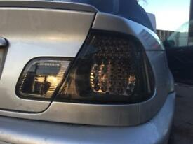 Bmw e46 convertible led smoked tail lights