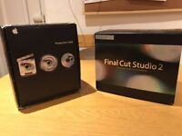 Final Cut Pro Production Suite and Studio 2 Upgrade.