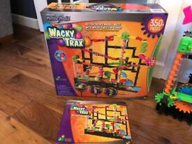 Wacky Tracy Kids Crazy Marble Run with box