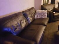 G Plan sofa and armchair