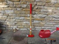 Log Splitter Axe - 3kg with Hickory Shaft - Never used