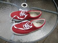 Red Deck Shoes