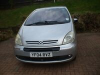citroen picasso diesel, 2ltr , manual , mot 5 doors