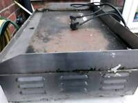 Grill electric 13amp commercial catering griddle flat top