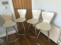 FREE: 4 breakfast bar stools / chairs
