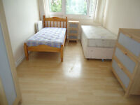 Twin room available now in Putney Close to Fulham, Richmond, Barnes, Kingston, Barnes, hammesmith
